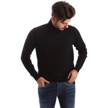 tekstylia Męskie Swetry Gas 561820 Czarny
