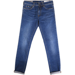 tekstylia Męskie Jeansy slim fit Gas 351177 Niebieski