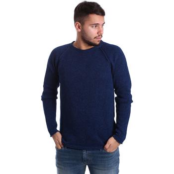 tekstylia Męskie Swetry Gas 561872 Niebieski