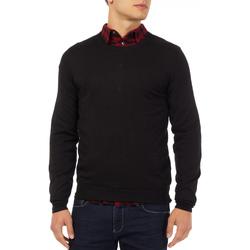 tekstylia Męskie Swetry Gas 561882 Czarny
