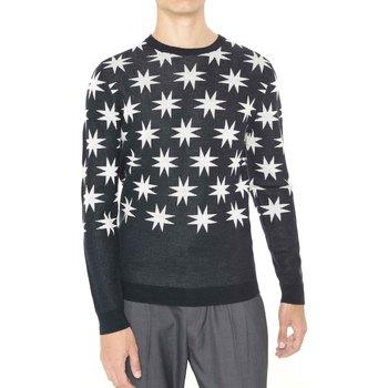 tekstylia Męskie Swetry Antony Morato MMSW00742 YA400006 Czarny