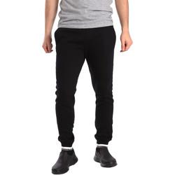 tekstylia Męskie Spodnie dresowe Key Up SF24 0001 Czarny