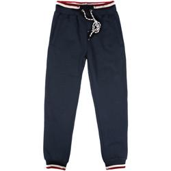 tekstylia Męskie Spodnie dresowe Key Up SF24 0001 Niebieski