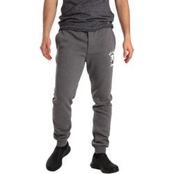 tekstylia Męskie Spodnie dresowe Key Up GF16 0001 Szary