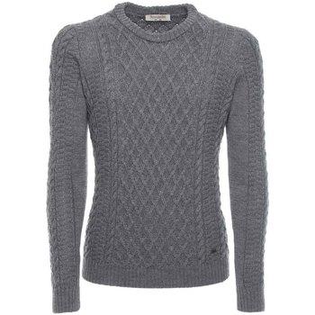 tekstylia Męskie Swetry NeroGiardini A774090U Szary