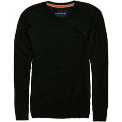 tekstylia Męskie Swetry Superdry M61083KPF6 Zielony