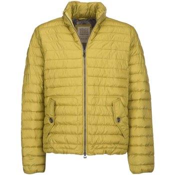 tekstylia Męskie Kurtki pikowane Geox M7429C T2432 Żółty