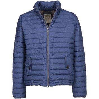 tekstylia Męskie Kurtki pikowane Geox M7429C T2432 Niebieski