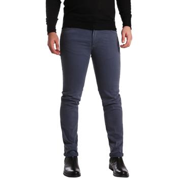 tekstylia Męskie Spodnie z pięcioma kieszeniami Sei3sei PZV16 7239 Niebieski