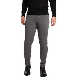 tekstylia Męskie Spodnie z pięcioma kieszeniami Sei3sei PZV17 7226 Szary