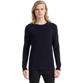 tekstylia Męskie Swetry Calvin Klein Jeans J30J305473 Niebieski