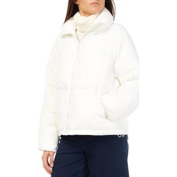 tekstylia Damskie Kurtki pikowane Gas 255672 Biały