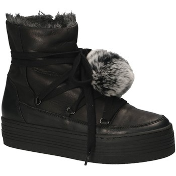 Buty Damskie Śniegowce Mally 5991 Czarny