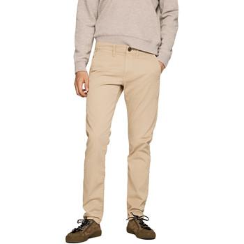 tekstylia Męskie Chinos Pepe jeans PM210992C342 Beżowy