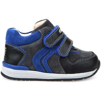 Buty Chłopiec Trampki wysokie Geox B640RA 02285 Niebieski