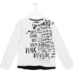 tekstylia Dziecko T-shirty z długim rękawem Losan 723 1005AA Biały