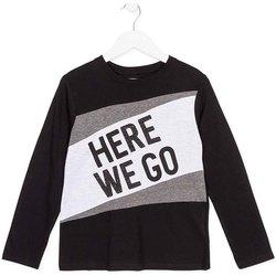 tekstylia Dziecko T-shirty z długim rękawem Losan 723 1020AA Czarny