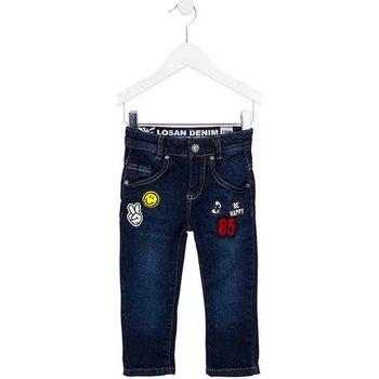 tekstylia Dziecko Jeansy slim fit Losan 725 9006AC Niebieski