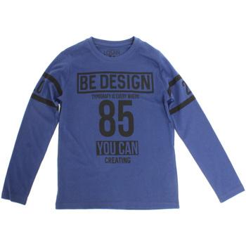 tekstylia Dziecko T-shirty z długim rękawem Losan 723 1203AA Niebieski