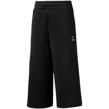 tekstylia Dziewczynka Spodnie dresowe Puma 593658 Czarny
