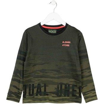 tekstylia Dziecko T-shirty z długim rękawem Losan 723 1013AA Zielony