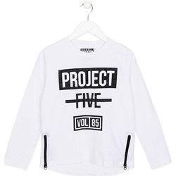 tekstylia Dziecko T-shirty z długim rękawem Losan 723 1010AA Biały