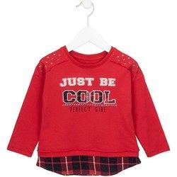 tekstylia Dziewczynka Bluzy Losan 726 1026AD Czerwony
