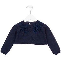tekstylia Dziewczynka Swetry rozpinane / Kardigany Losan 726 5790AD Niebieski