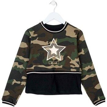 tekstylia Dziecko Bluzy Losan 724 6023AB Zielony