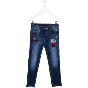 tekstylia Dziecko Jeansy slim fit Losan 723 9003AA Niebieski