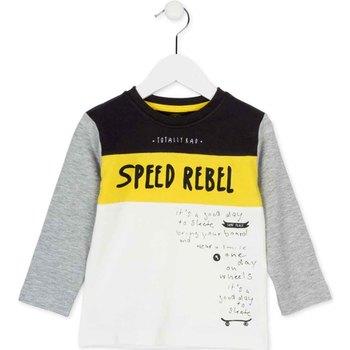 tekstylia Dziecko T-shirty z długim rękawem Losan 725 1018AC Biały