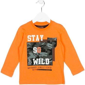 tekstylia Dziecko Bluzy Losan 725 1013AC Pomarańczowy