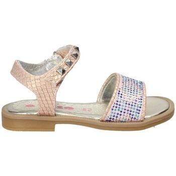 Buty Dziewczynka Sandały Asso 55930 Różowy