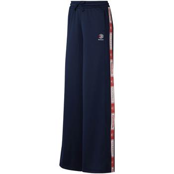 tekstylia Damskie Spodnie dresowe Reebok Sport DT7265 Niebieski