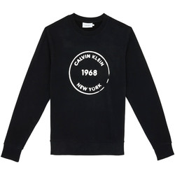 tekstylia Męskie Bluzy Calvin Klein Jeans K10K104548 Czarny