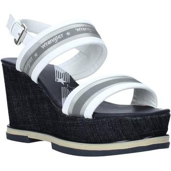 Buty Damskie Sandały Wrangler WL01553A Biały