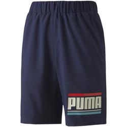 tekstylia Dziecko Szorty i Bermudy Puma 584184 Niebieski