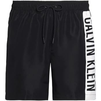 tekstylia Męskie Kostiumy / Szorty kąpielowe Calvin Klein Jeans KM0KM00437 Czarny