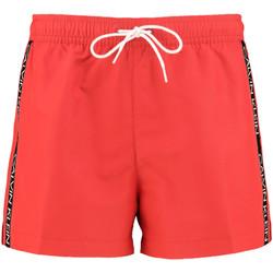 tekstylia Męskie Kostiumy / Szorty kąpielowe Calvin Klein Jeans KM0KM00457 Czerwony