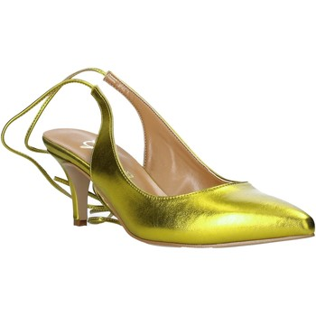 Buty Damskie Czółenka Grace Shoes 360017 Żółty