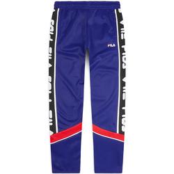 tekstylia Męskie Spodnie dresowe Fila 687707 Niebieski