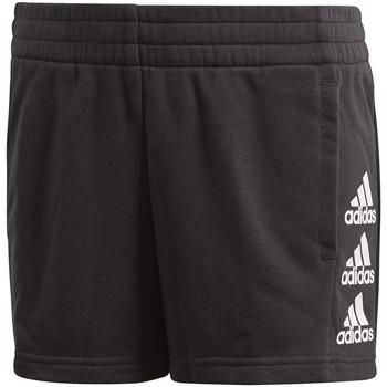 tekstylia Dziecko Szorty i Bermudy adidas Originals FM6501 Czarny