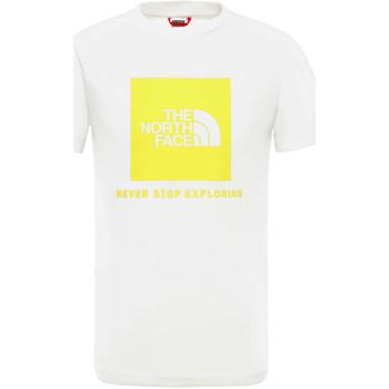 tekstylia Dziecko T-shirty z krótkim rękawem The North Face NF0A3BS2P801 Biały