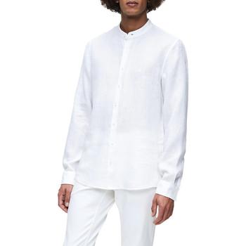 tekstylia Męskie Koszule z długim rękawem Calvin Klein Jeans K10K105389 Biały