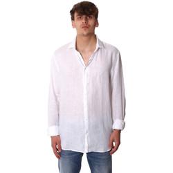 tekstylia Męskie Koszule z długim rękawem Calvin Klein Jeans K10K106018 Biały