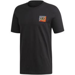 tekstylia Męskie T-shirty z krótkim rękawem adidas Originals FM3400 Czarny