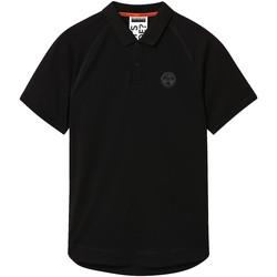 tekstylia Męskie Koszulki polo z krótkim rękawem Napapijri NP0A4E8Q Czarny
