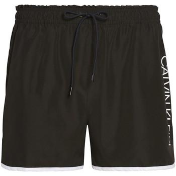 tekstylia Męskie Kostiumy / Szorty kąpielowe Calvin Klein Jeans KM0KM00439 Czarny