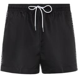 tekstylia Męskie Szorty i Bermudy Calvin Klein Jeans KM0KM00457 Czarny
