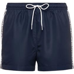 tekstylia Męskie Szorty i Bermudy Calvin Klein Jeans KM0KM00457 Niebieski